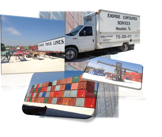 Container Yard Services | Empire Truck Lines, Inc